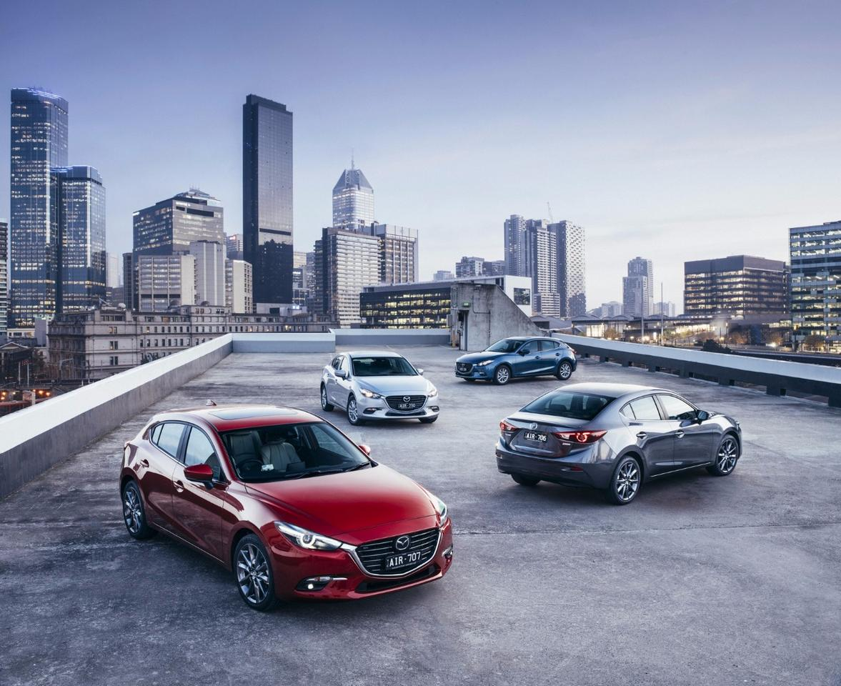 Mazda's updated Mazda 3 boasts subtle exterior tweaks