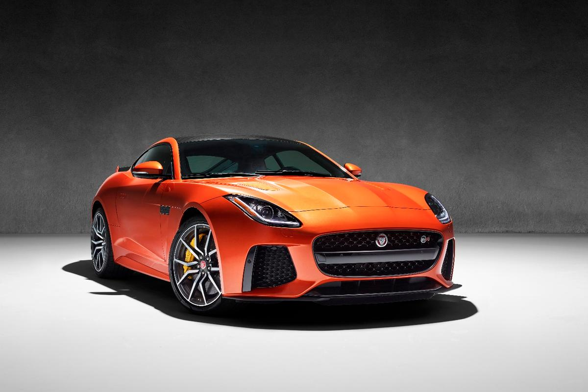 The Jaguar F-Type SVR set to debut at the Geneva Motor Show
