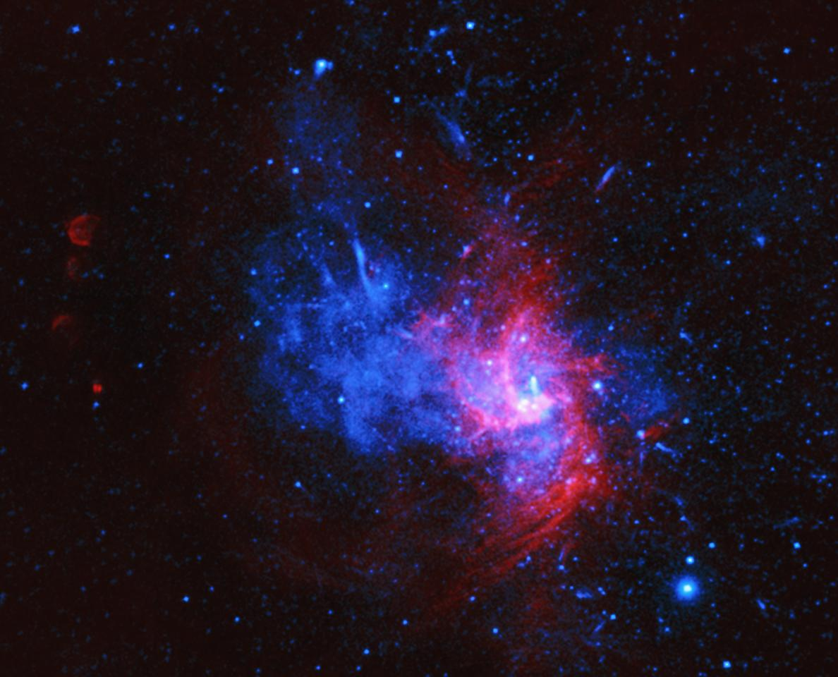 Chandra X-ray image of Sagittarius A East, which may turn out to be a rare Type Iax supernova – the first observed in the Milky Way
