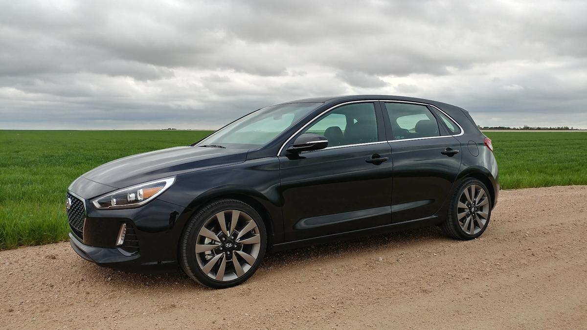 The 2018 Hyundai Elantra GT is the hatchback version of the Elantra sedan. At least on paper