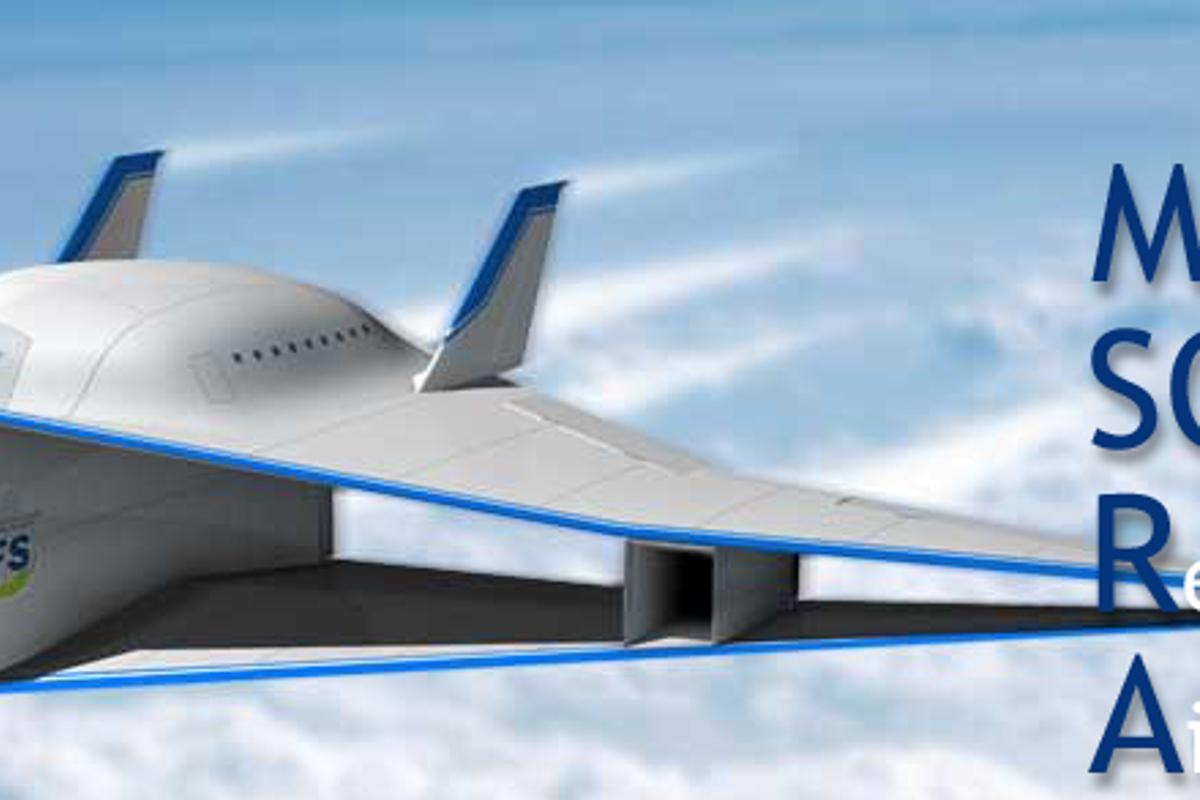 The Tohoku University design would change shape during flight to adapt to supersonic speeds (Image: Tohoku University)