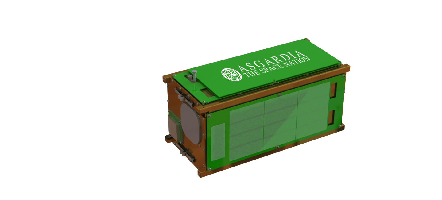 The first satellite for the project, Asgardia-1, will be a CubeSat carrying the names and photos of the first 1.5 million citizens to sign up