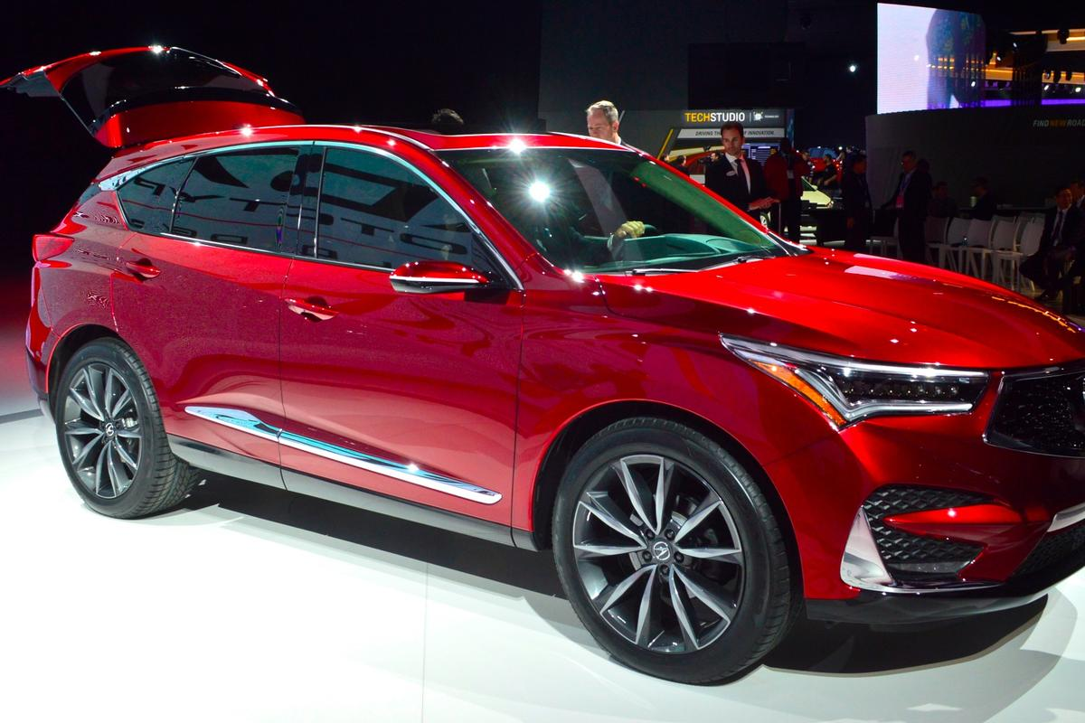 The Acura RDX is powered by a new 2.0 -iter, 16-valve DOHC direct-injected engine