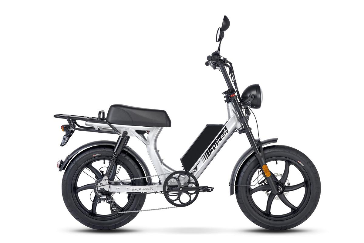 The Hyperscorpion: blurring the line between ebike and moped