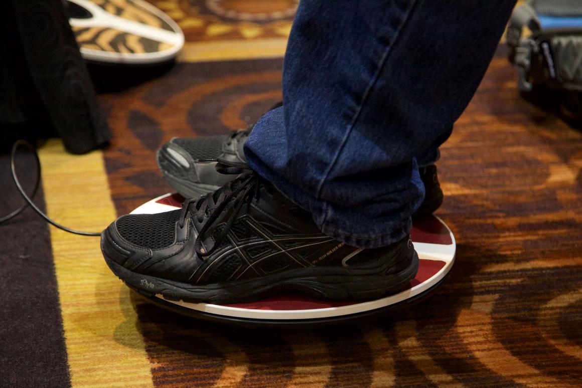 3DRudder translates foot pressure into analog controller movement in VR games