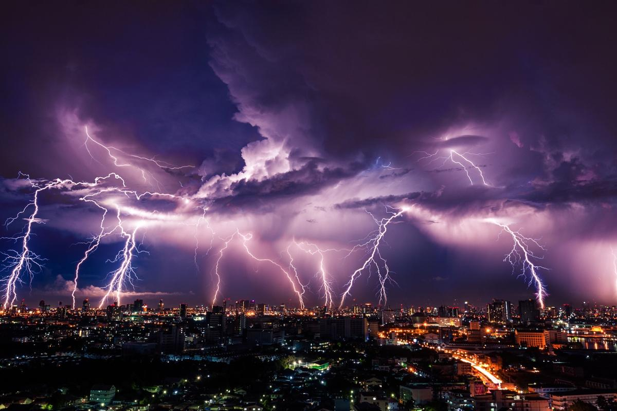 A new study suggests low-level electromagnetic fields from lightning strikes may protect living cells