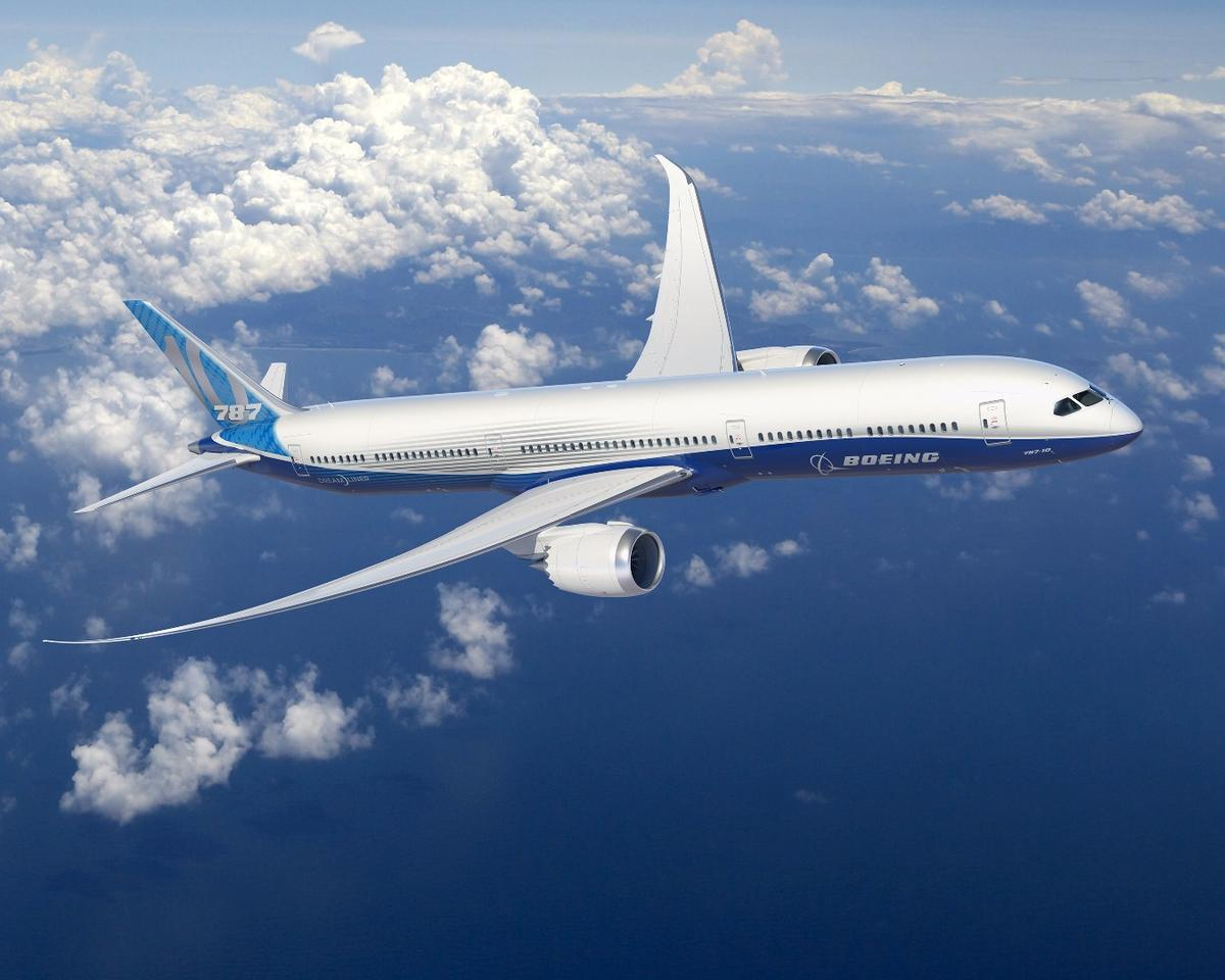 Boeing has completed detailed design for the 787-10 Dreamliner