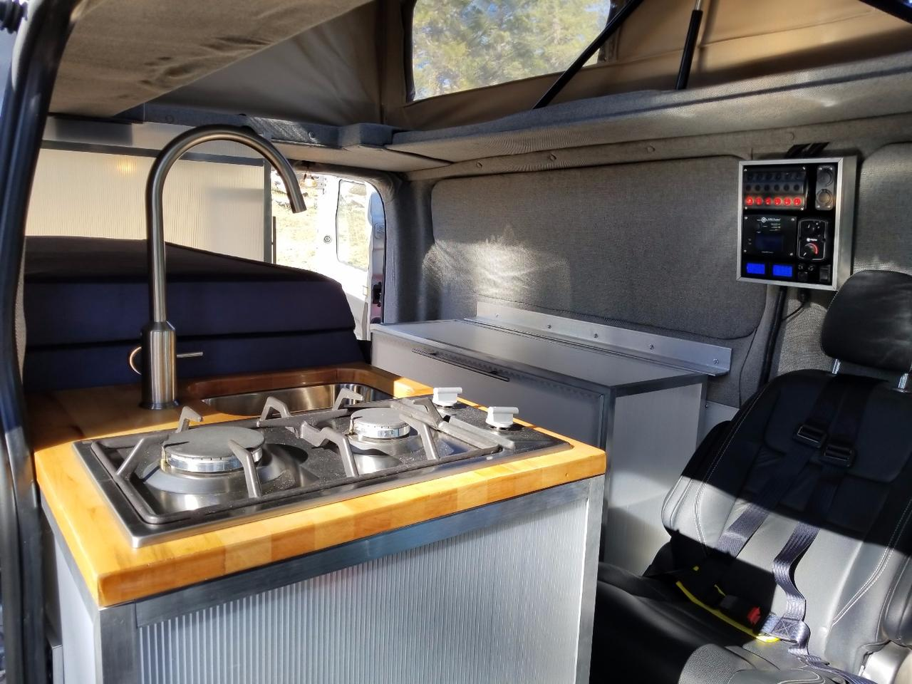 ModVans turns the Ford Transit into a modular, modern camper van