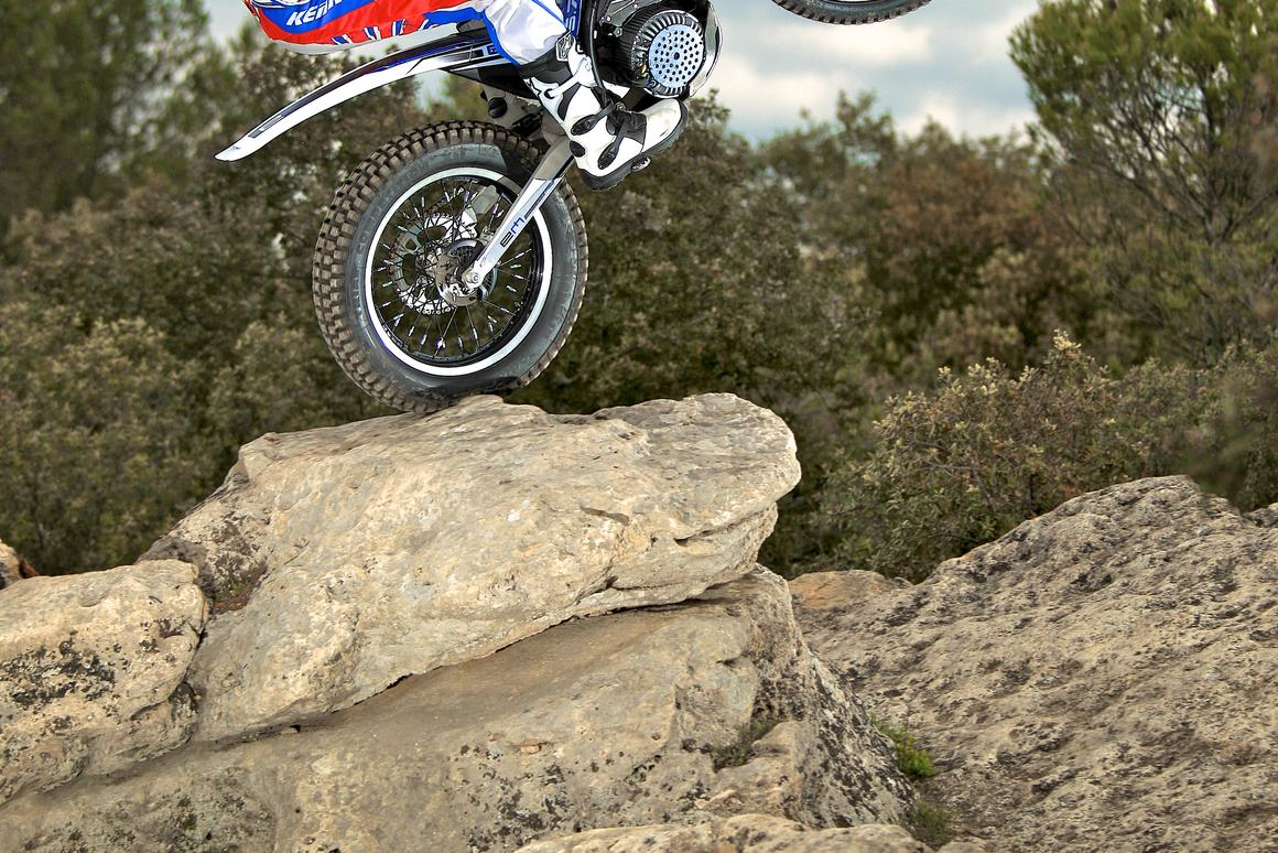 Philippe Aresten's Electric Motion 5.7 trials bike has been designed for both competition and leisure riding