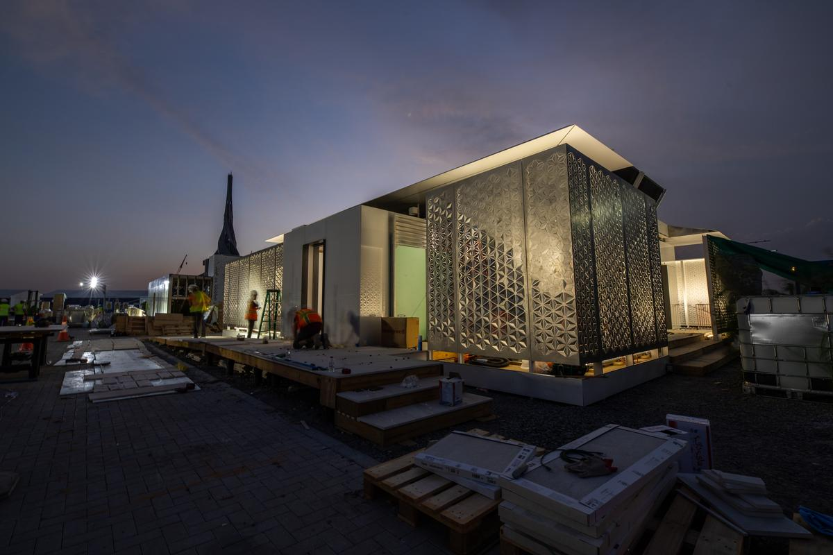 The 2018 Solar Decathlon Middle East is an offshoot of the main competition in the US and also tasks students with building prototype solar-powered houses