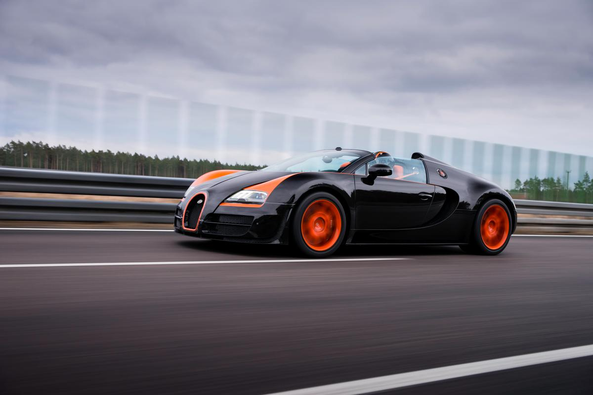 The sun is setting on the record-breaking Bugatti Veyron's production run