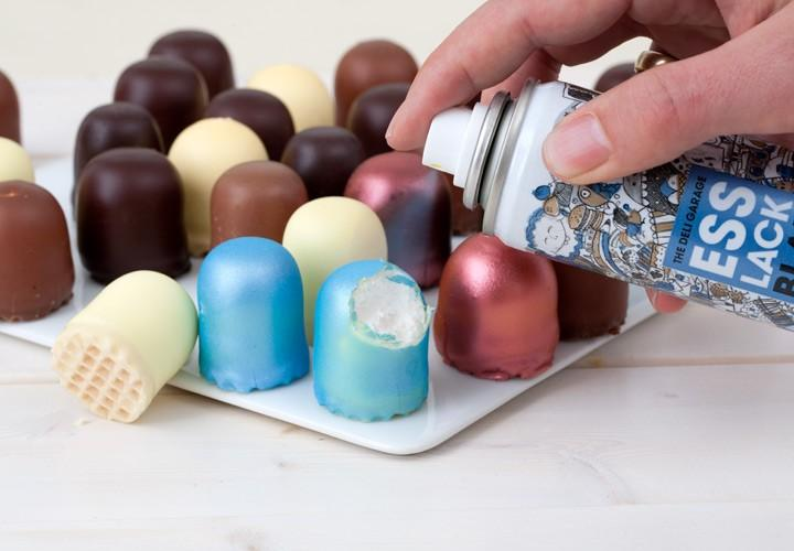 Food Finish - edible food coloring in a spray can
