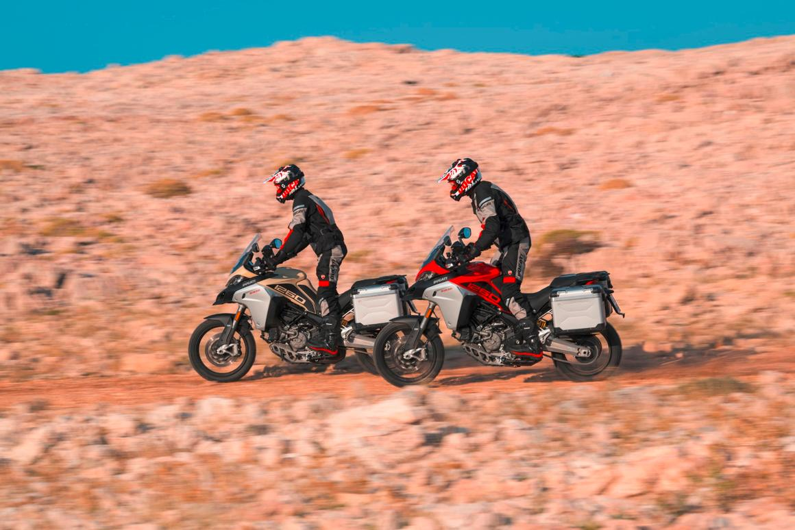 Ducati Unleashes The 158 Hp 2019 Multistrada 1260 Enduro