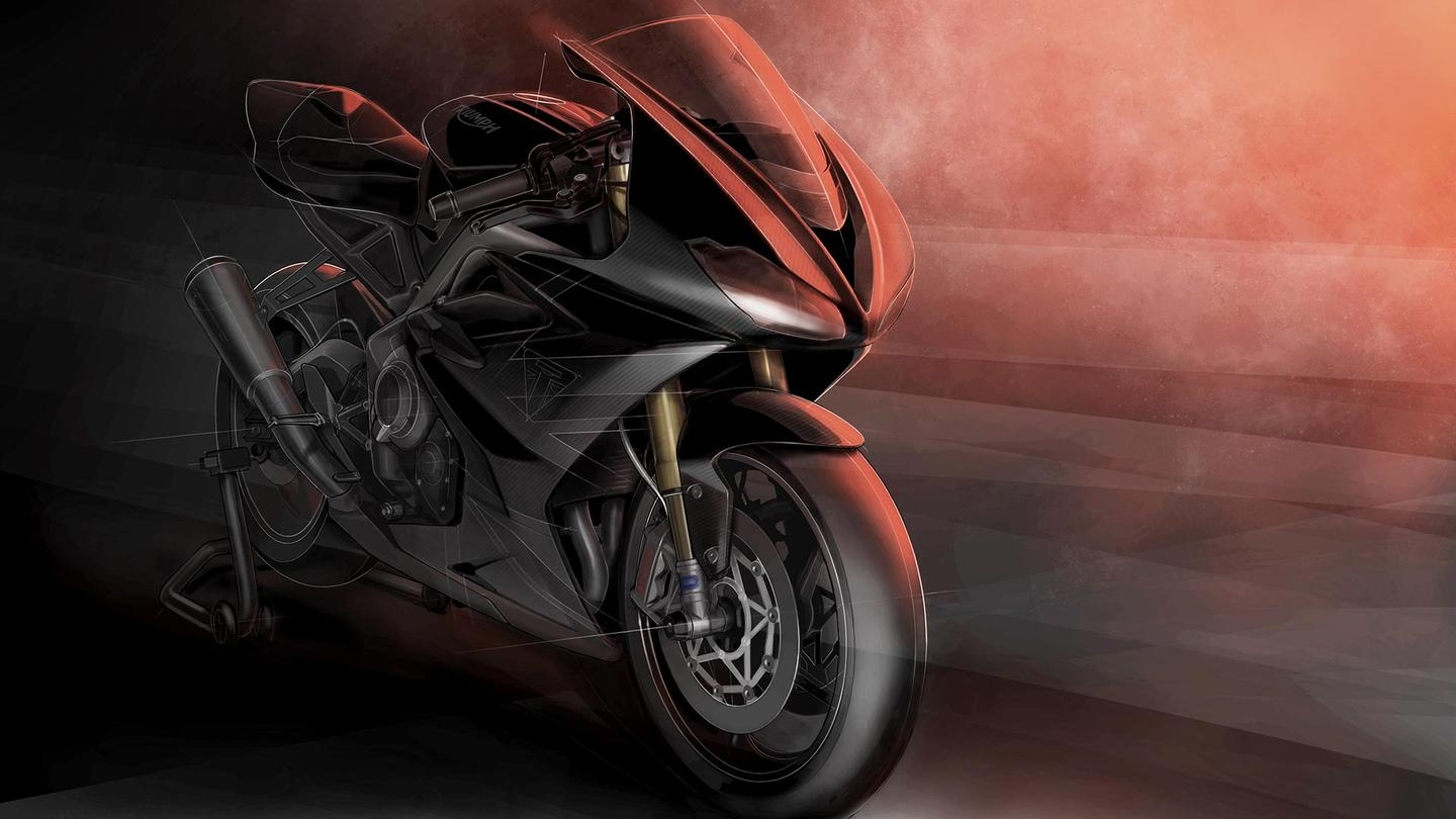 A high-spec,Moto2-derived Daytona 765 from Triumph will have lightweight track riders salivating