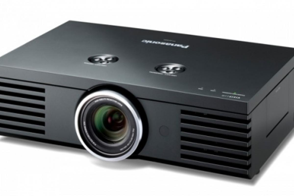 The Panasonic PT-AE4000 projector