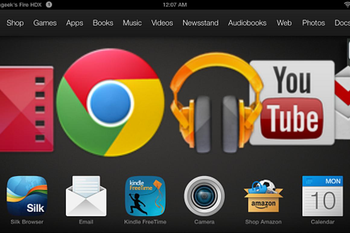 How to install Google apps on Kindle Fire HD or HDX