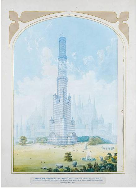 The world's first skyscraper was proposed by British architect Charles Burton in 1851