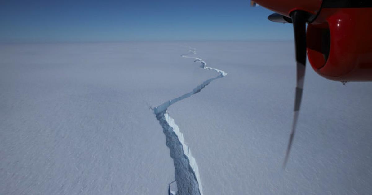 London-sized iceberg breaks off Brunt Ice Shelf in Antarctica