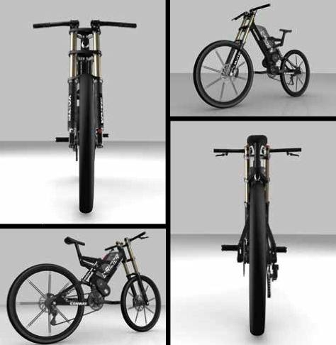 The Conway E-Rider electric mountain bike