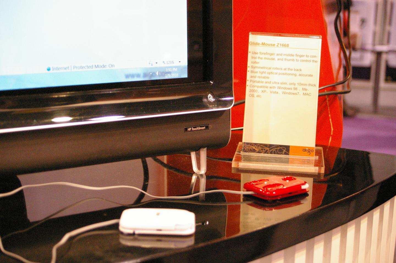 The lightweight and ergonomic Aigo Glide Mouse
