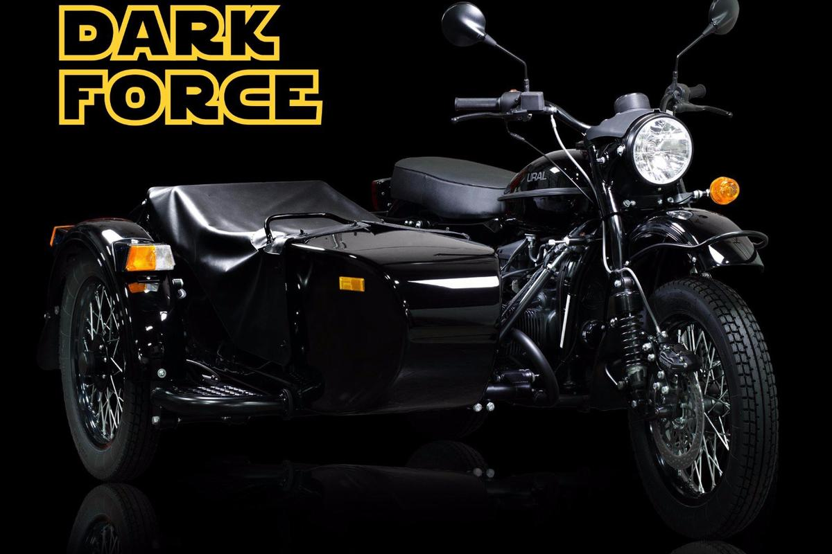 The limited-edition Ural Dark Force