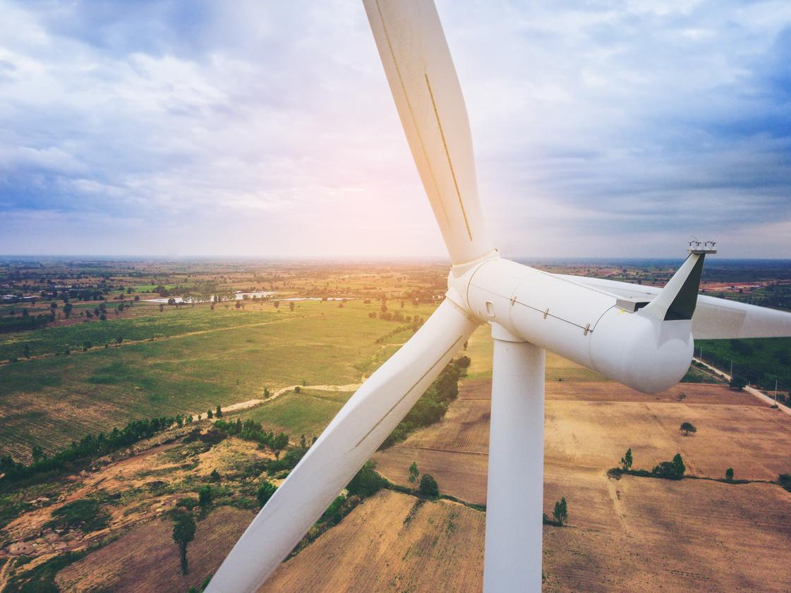 When turbine blades meet their end of use, reclaiming their balsa wood for recycling is a difficult task
