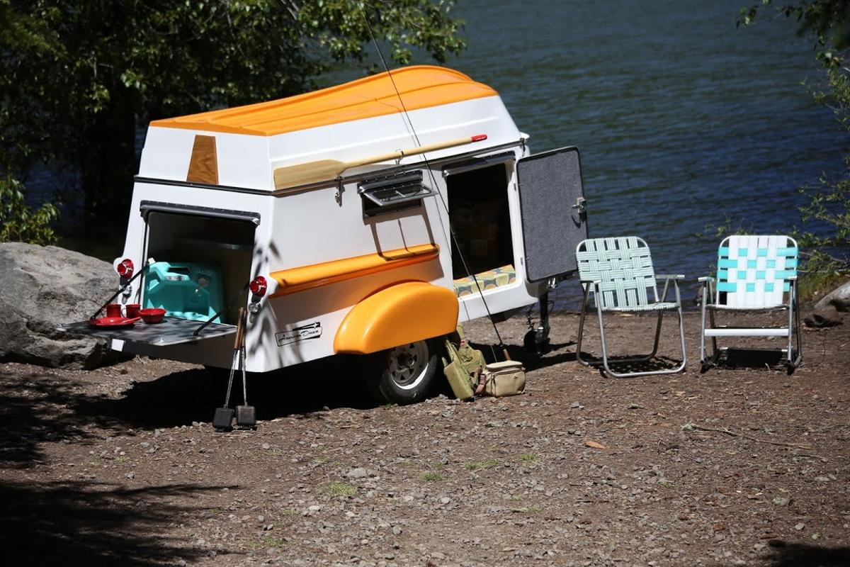 American Dream has brought back the classic boat-trailer