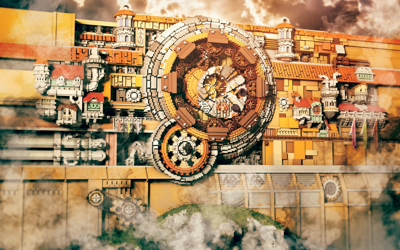 Vegard Elseth's Lindblum Gate (2015) – onebuilder,300,000 blocks,60 days