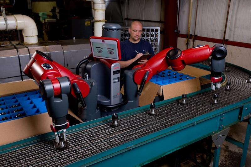 Baxter is a relatively inexpensive new industrial robot, that can reportedly be trained to perform tasks by regular people