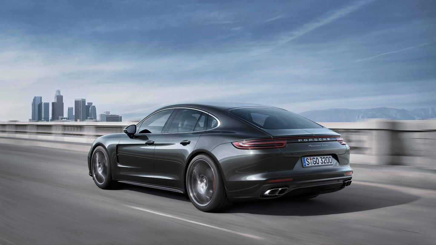 The new Panamera makes its world debut