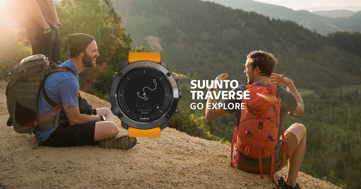 Suunto sees the Traverse customer as more of a casual hiker or micro-adventurist