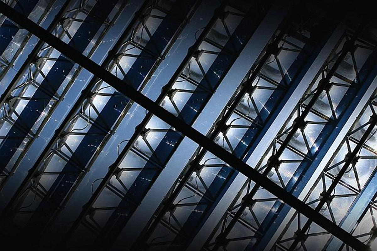Diamond-Power skylight panels are designed to harness solar energy, while reducing the solar heat load on buildings