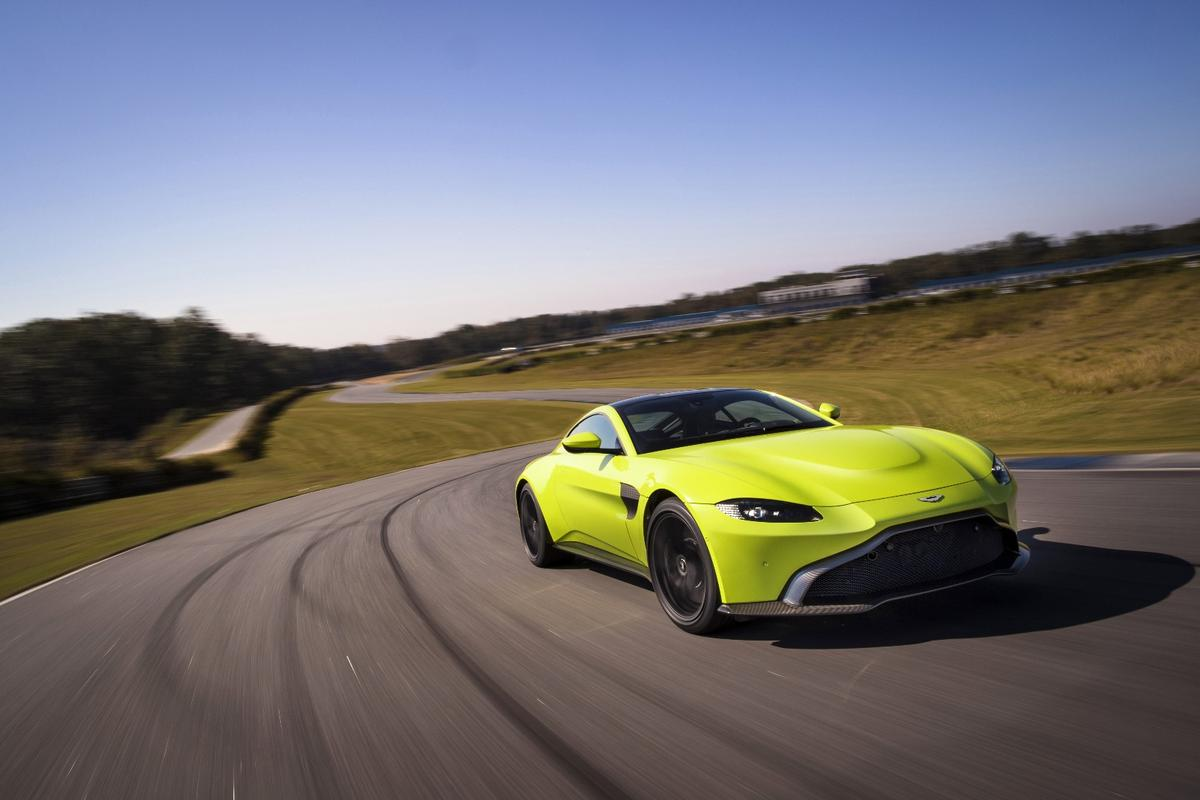 The 2018 Aston Martin Vantage marks a new look for the British sportscar
