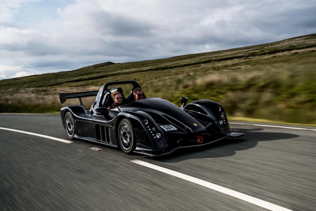 The new Radical Rapture is a race car for the road in every sense