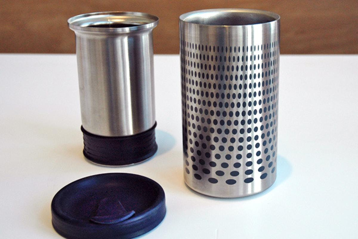 The Impress combines an inner mug, outer mug and lid
