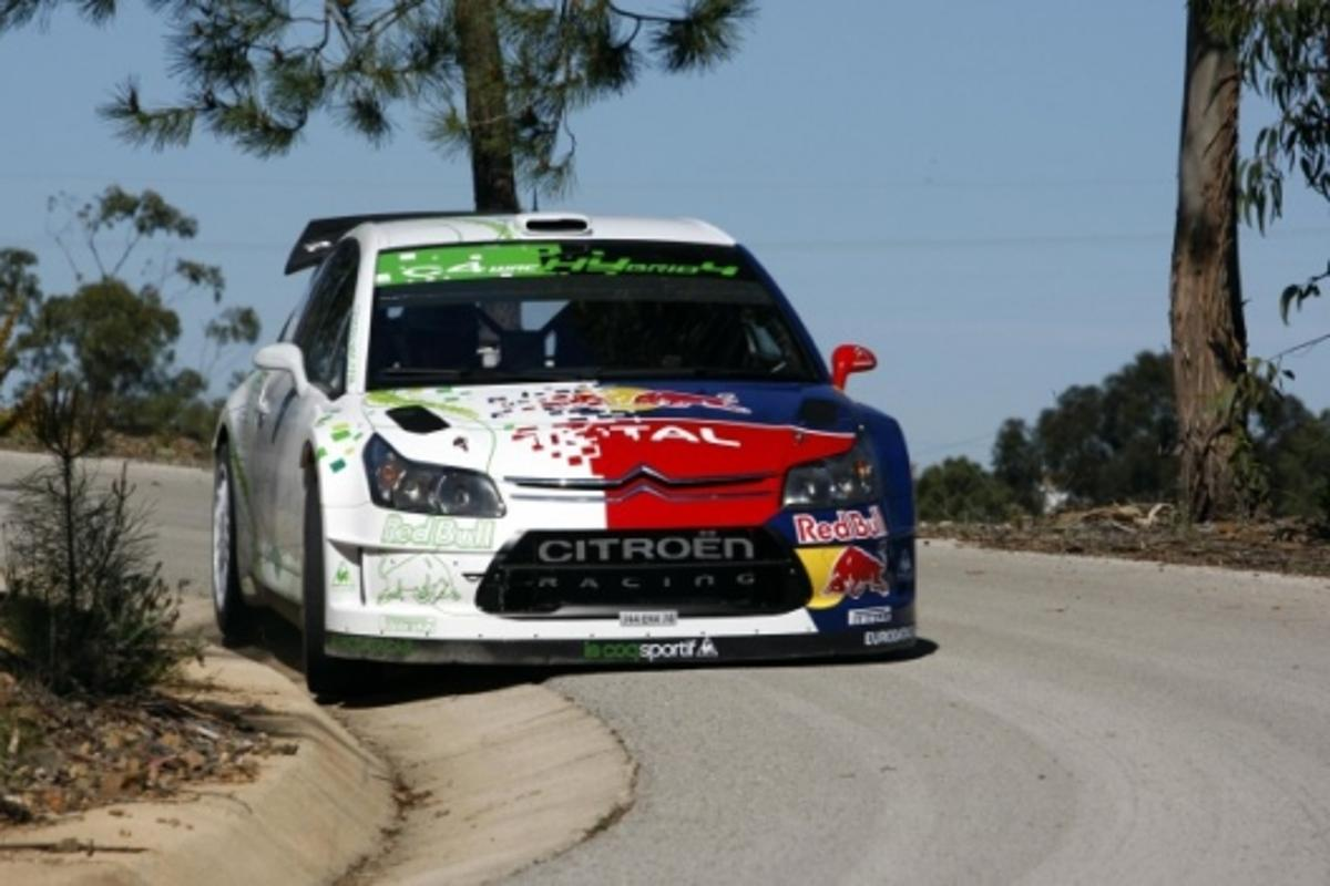 Citroen tests the world's first hybrid WRC rally car