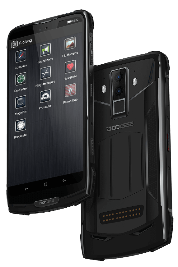 Doogee S90: waterproof, dustproof, shockproof