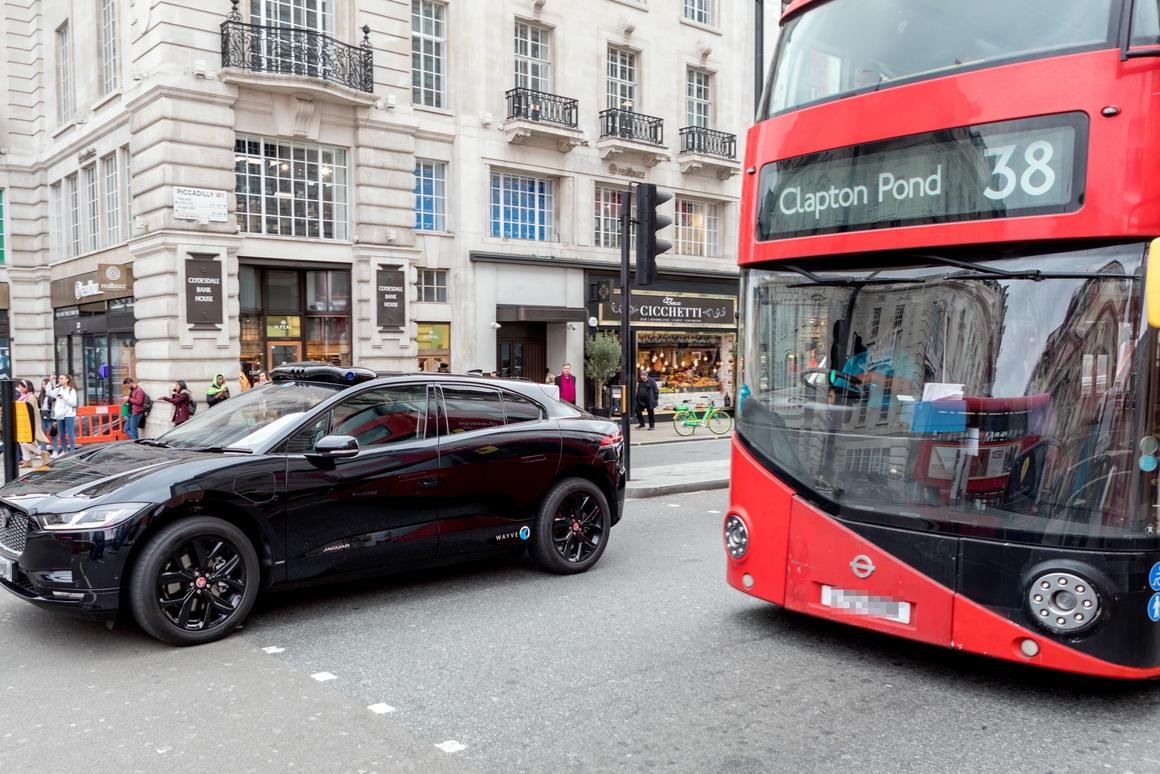 A fleet of self-driving Jaguar iPace electric cars are about to tackle central London's busy streets