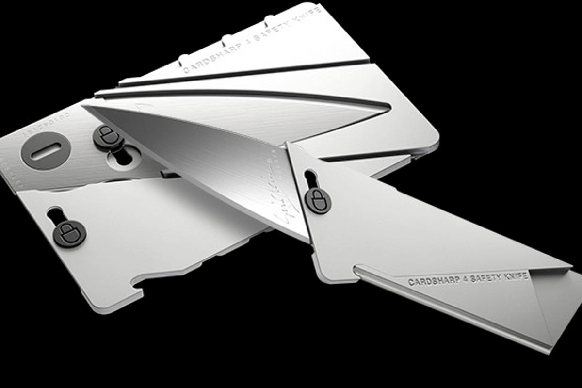 The Cardsharp4 is built from aluminum and stainless steel