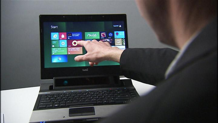 Most laptops don't offer touch functionality, and even when they do - touching a vertical surface is both tiresome and awkward - Gaze from Tobii controls onscreen activity using eye tracking and a multi-touch trackpad