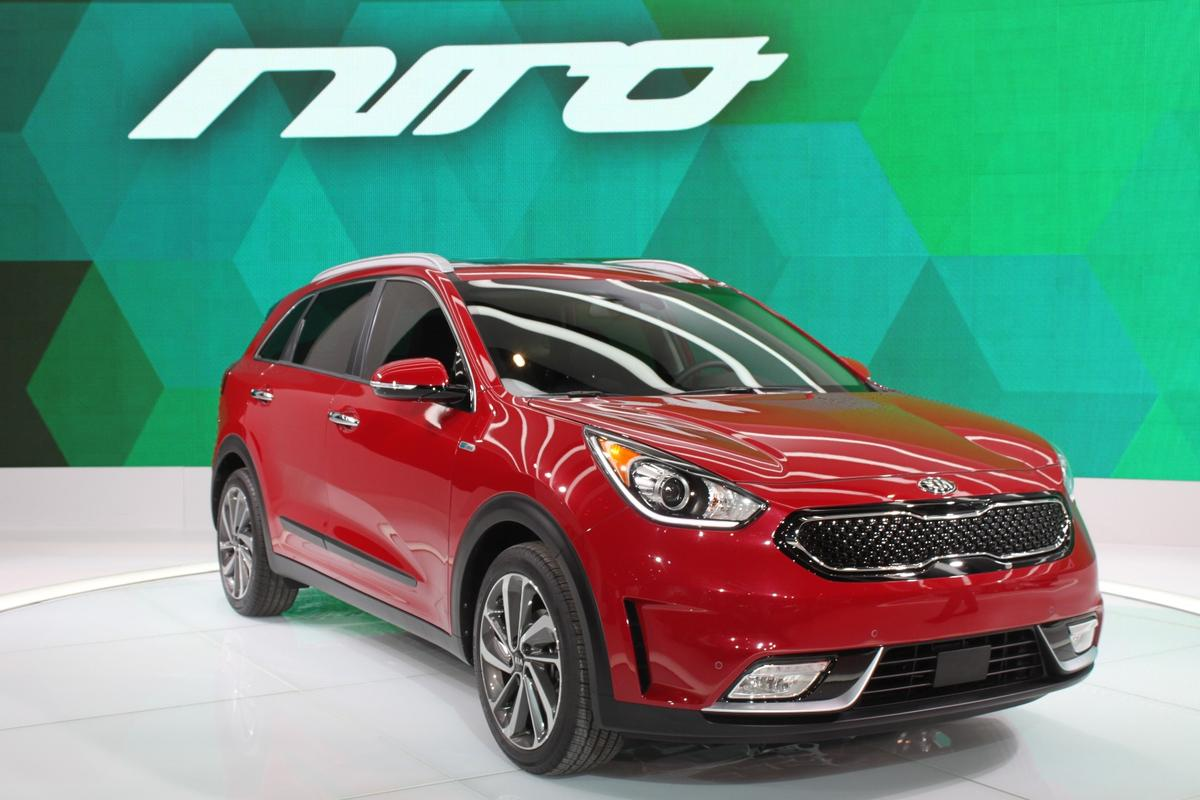 The Niro features an all-new hybrid powertrain