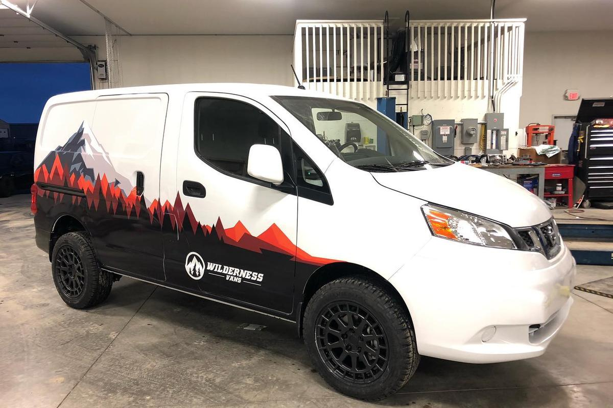 Wilderness Vans turns the Nissan NV200 into the West Coast Mini