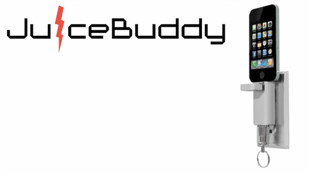 JuiceBuddy is an ultra-portable charger which frees users from the hassle of cables