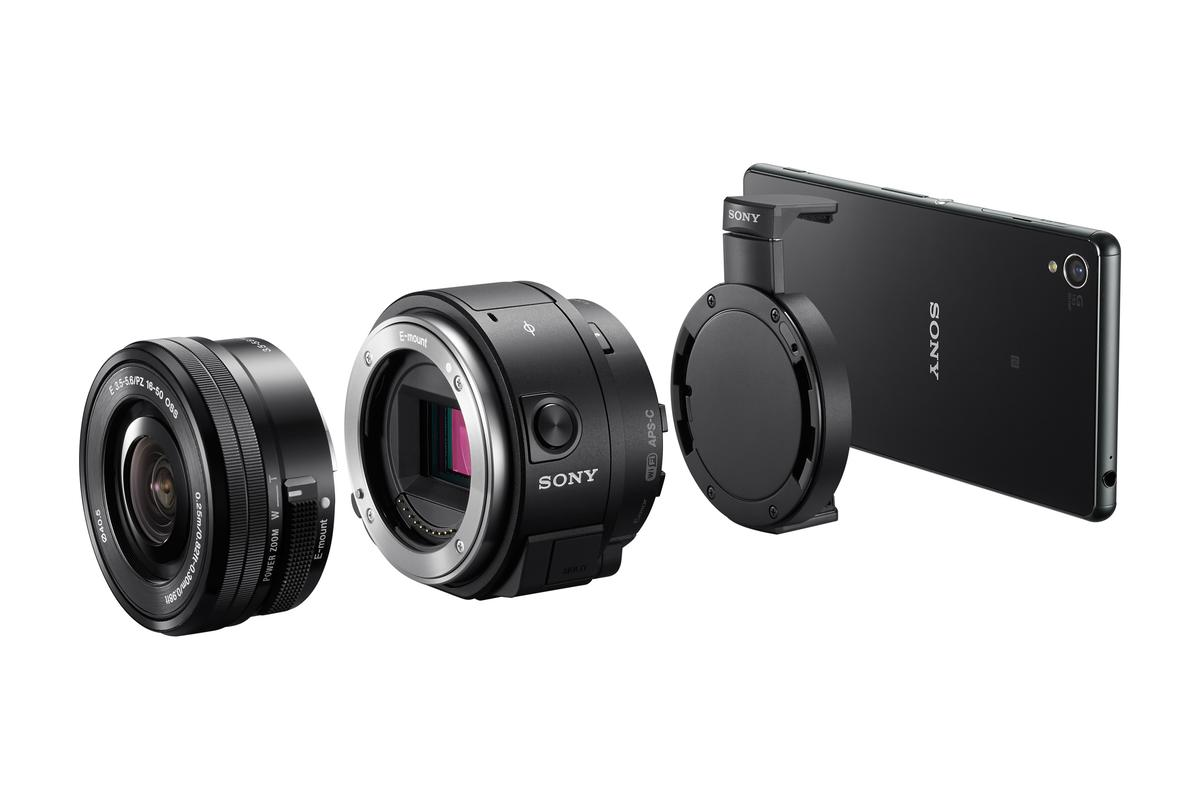 The Sony QX1 turns your smartphone into a mirrorless interchangeable lens camera