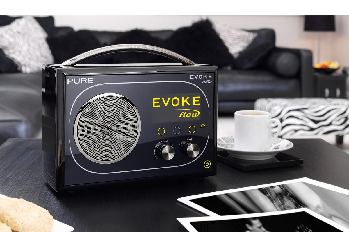 Anywhere in the home would a perfect spot for the stylish EVOKE Flow