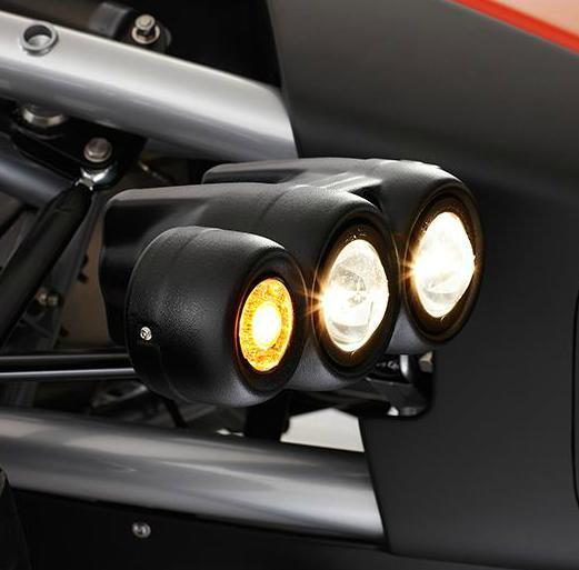 The Atom 3.5 has new projector headlamps