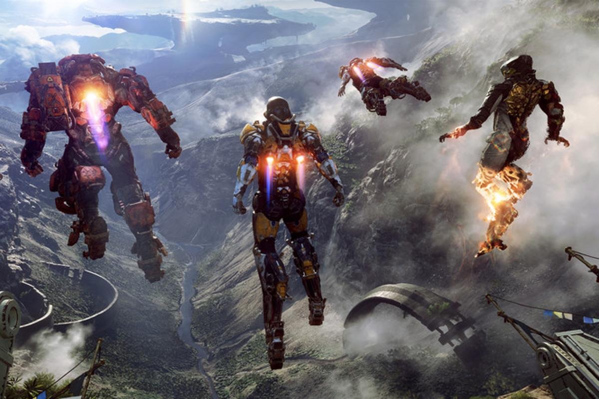 Anthem is one of the main games on show at EA's E3 2018 press conference