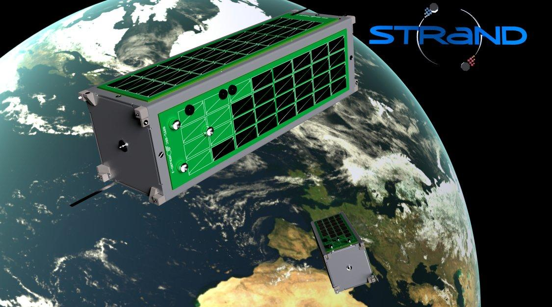 SSTL's STRaND-2 nano-satellite uses Kinect technology for approach and docking