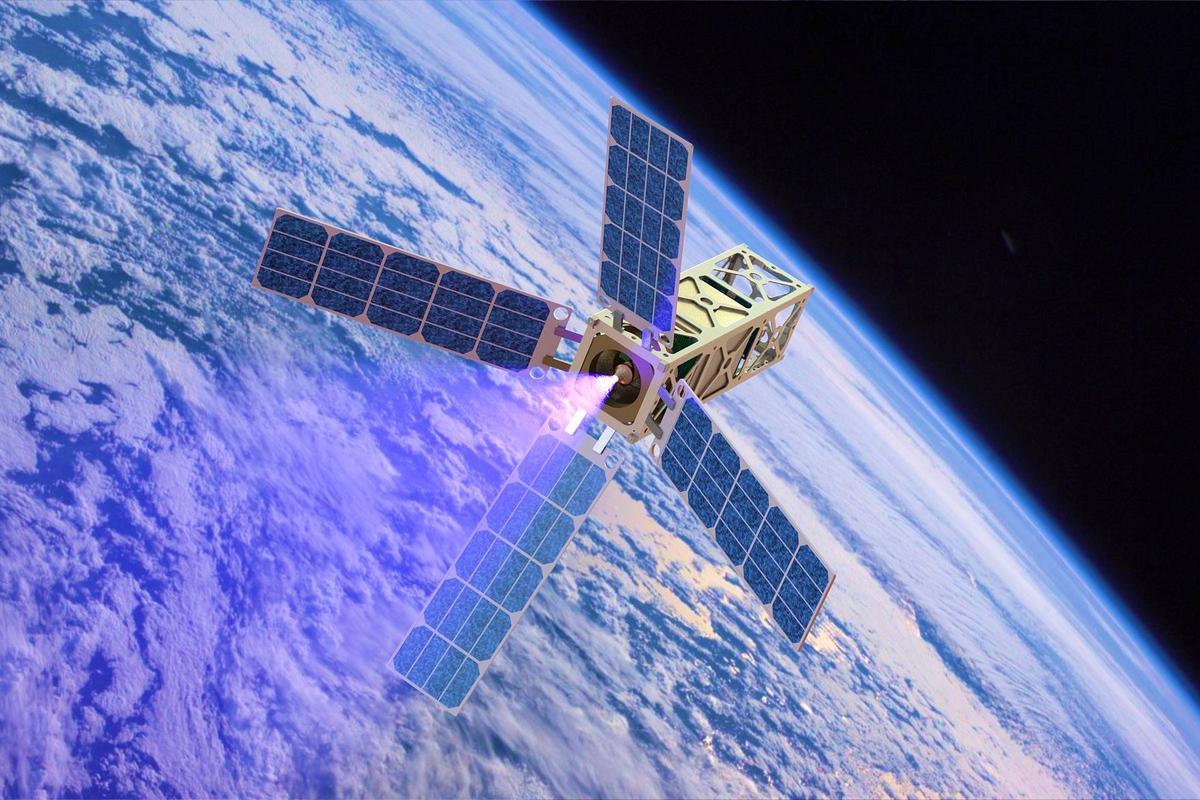 Michigan's proposed 3U CubeSat interplanetary spacecraft (Photo: University of Michigan)