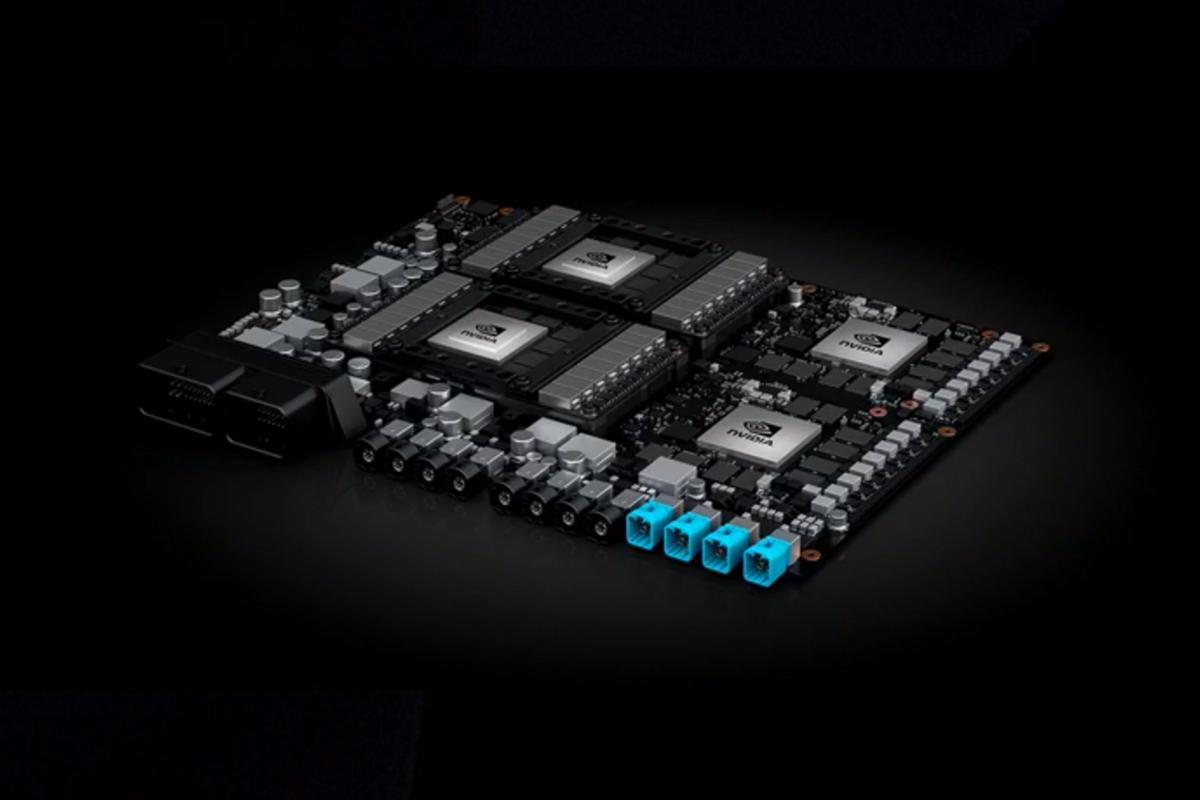 The Nvidia Drive PXPegasus